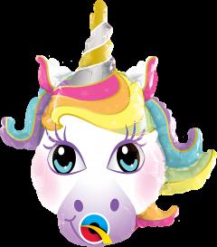 Mini Magical Unicorn folija balon na palčki