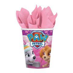 Pink Paw Patrol kozarčki 250ml