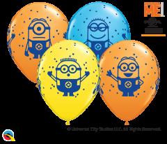 Lateks baloni 28cm Minions