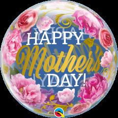 Bubble Happy Mothers day pvc balon