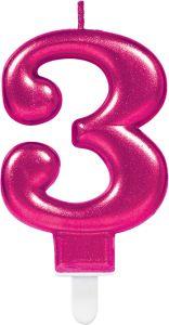Pink svečka 3