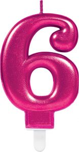 Pink svečka 6