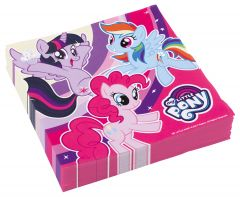 My Little Pony serviete 33x33 cm