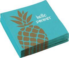 Pineapple Vibes serviete 33x33 cm