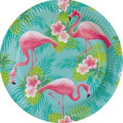 Flamingo Paradise krožniki 23 cm