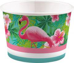 Flamingo Paradise posodice