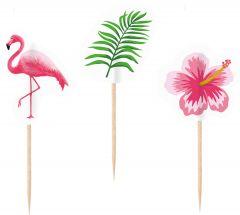 Flamingo Paradise okrasek na palčki