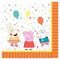 Peppa Pig servete 33 x 33 cm