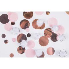 Rose Gold Birthday konfetki 16 g