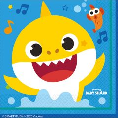 Baby Shark serviete 33x33 cm