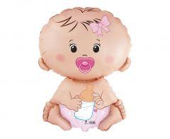 Standard FX Baby Girl folija balon