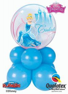 Bubble balonska dekoracija Cinderella