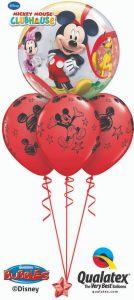 Balonska skulptura Bubble Mickey & Friends
