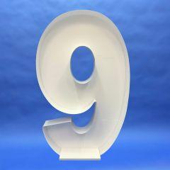 Okvir za balone številka 9