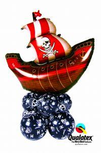 Balonska dekoracija velika Pirate Ship