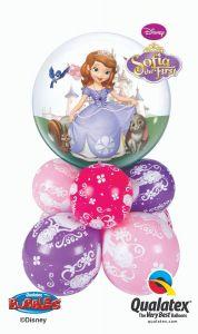 Bubble balonska dekoracija Sofia The First
